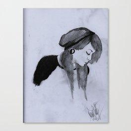 Beanie Canvas Print