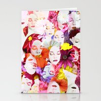 ultraviolence Stationery Cards featuring Ultraviolence by Kat Heroine