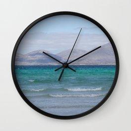 Beach 3 Lewis and Harris 4 Wall Clock