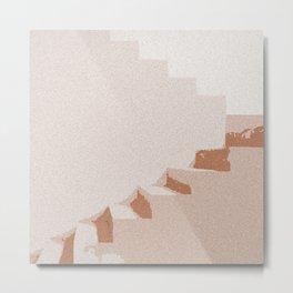 DESERT STAIRS Metal Print