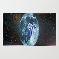 dr who Area & Throw Rugs featuring dr who by store2u