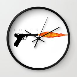 Luger Wall Clock