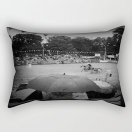 Mud Racer Rectangular Pillow