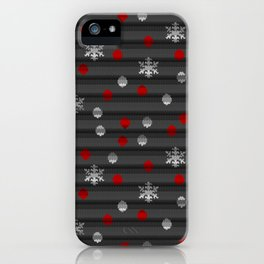Winter Wooly Art iPhone Case