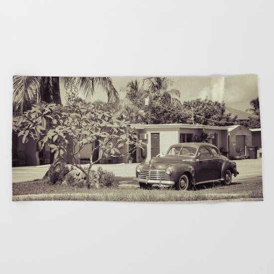 1941 Chrysler Beach Towel