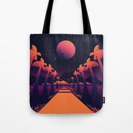 Road Summer Tote Bag