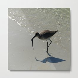 Lunch  At The Beach Metal Print
