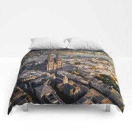 Fall upon Cologne Comforters