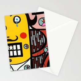 the UNCSCRUPULOUS NONSENSICAL IRREPRESSIBLY INFINITESIMAL INFESTATION of GREED Stationery Cards