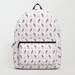 Christmas Flamingo Backpack
