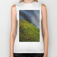 moss Biker Tanks featuring Moss by Ezekiel