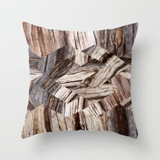 Parquetry No.2 Throw Pillow