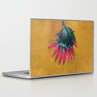 heels Laptop & iPad Skins featuring HEAD OVER HEELS by INA FineArt