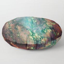 Spiral Galaxy Floor Pillow