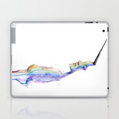 unicorn girl Laptop & iPad Skin
