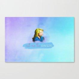 Call me the savior Canvas Print