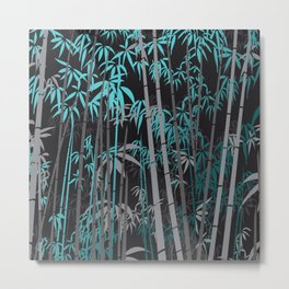 Bamboo XII Metal Print
