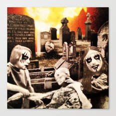 From Entombed to Exhumed Canvas Print