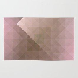 Blush Folded Star Rug