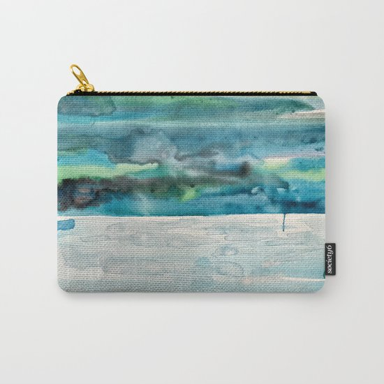 Miami Beach Watercolor #5 Carry-All Pouch