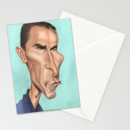 Christian Bale Stationery Cards