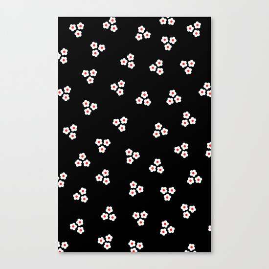 Night Daisies Canvas Print