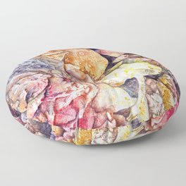 Dreaming the sea Floor Pillow