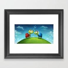 Turti & Turto Framed Art Print