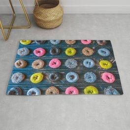 Vegan Donut Party Rug