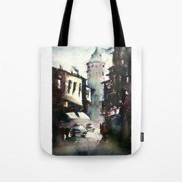 Galata Tower Tote Bag