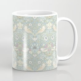 William Morris Pastel Strawberry Thief Pattern Coffee Mug