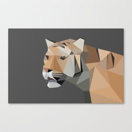 Tiger Illustration Canvas Print