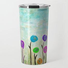 Wicked little flowers. Travel Mug