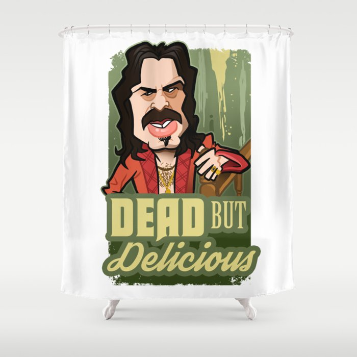 Dead but Delicious Shower Curtain