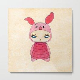 A Boy - Piglet (porcinet) Metal Print