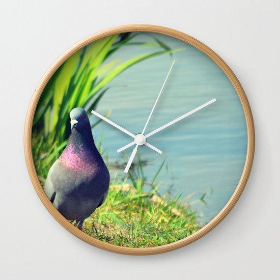 Demure Wall Clock