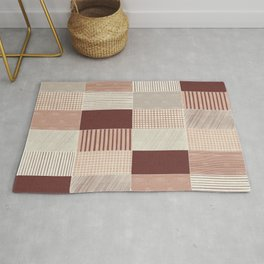 Rustic Tiles 03 #society6 #pattern Rug