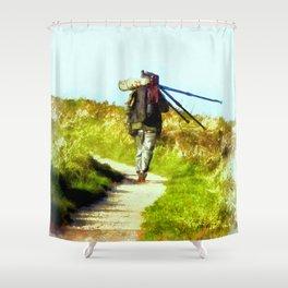 The last shot Shower Curtain