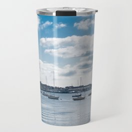 Boston Harbor Port Bahia Travel Mug