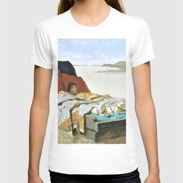12,000pixel-500dpi - Evariste Vital Luminais - The sons of Clovis II - Digital Remastered Edition T-shirt