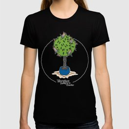 Waxwings feasting on berries T-shirt