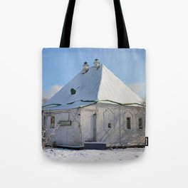 the old building of the Treasury Tote Bag
