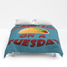 Taco Tuesday Comforters
