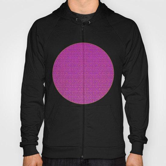 Purple Tribal Pattern Hoody