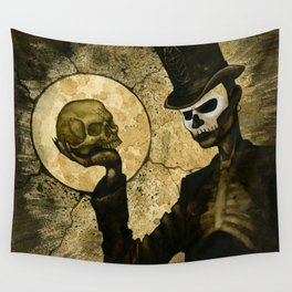 Shadow Man Wall Tapestry
