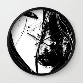 """Atelophobia"" Art by weart2 Wall Clock"