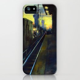 Waiting for the 6:52 iPhone Case