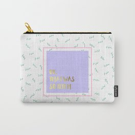 So Fetch Carry-All Pouch