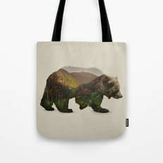 North American Brown Bear Tote Bag