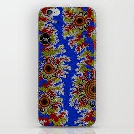 Authentic Aboriginal Art - Waterholes Corela iPhone Skin